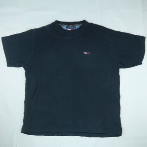 Vintage 90s Tommy Hilfiger T Shirt Double Collar